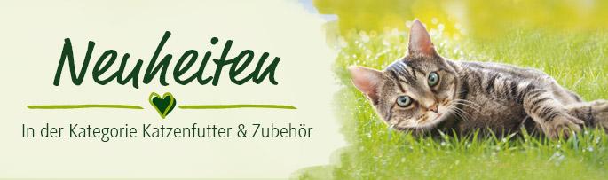Neuheiten in der Kategorie Katzenfutter & Zubehör