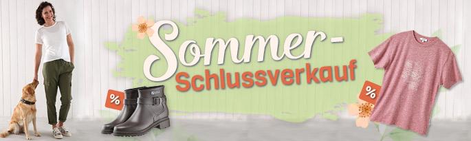 SSV - Sommerschlussverkauf bei alsa