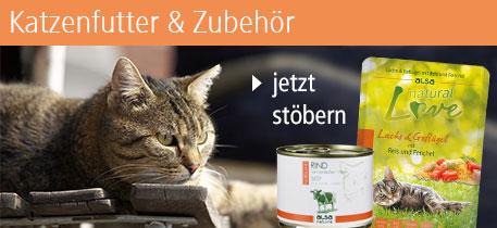 Katzenfutter & Zubehör
