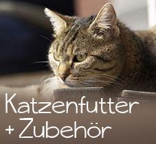 Katzenfutter und Zubehör