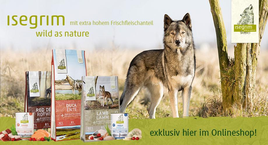 isegrim - wild as nature - mit extra hohem Fleischanteil