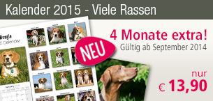 Rasse Kalender 2015