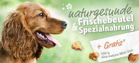 Naturgesunde Frischebeutel & Spezialnahrung