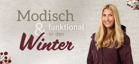 Modisch & funktional in den Winter