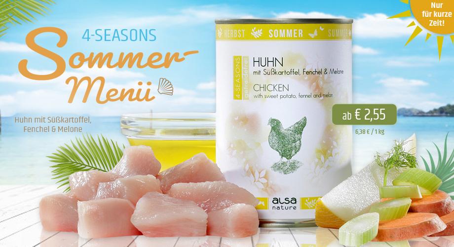 alsa-nature 4-SEASONS Sommer-Menü Huhn