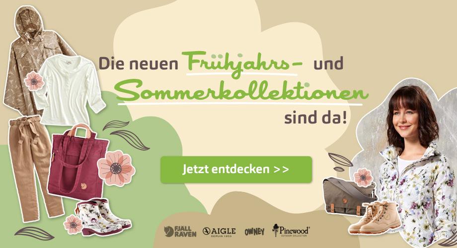 Die neuen Frühjahrs-/Sommerkollektionen