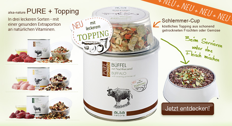 alsa-nature PURE + Topping