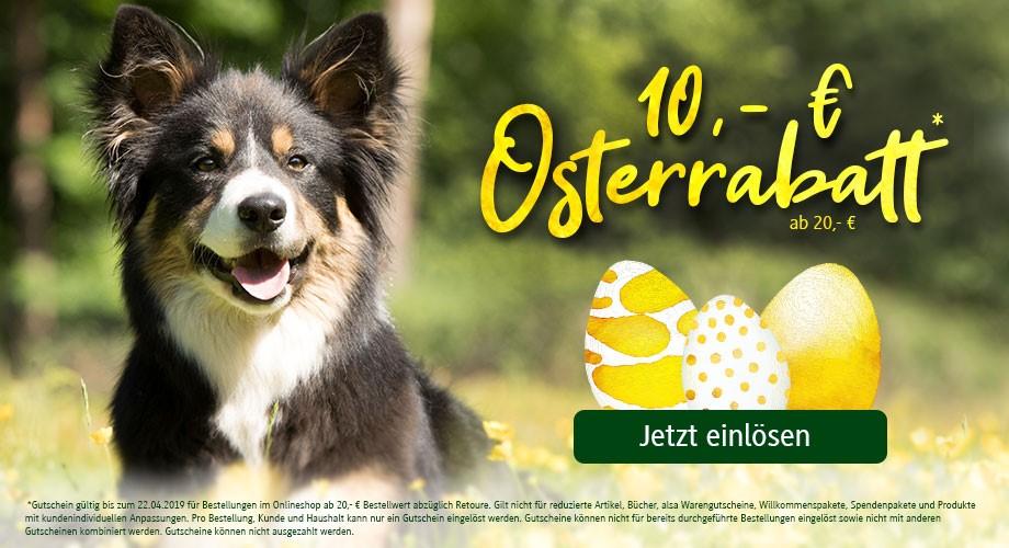 10,- € Rabatt* zu Ostern #OSTERN19