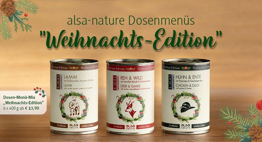 Dosenmenüs Weihnachts-Edition