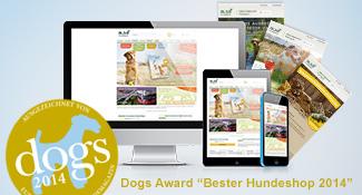alsa-hundewelt - Online-Shop für naturgesundes Hundefutter und Zubehör für Hund und Halter. alsa-hundewelt hat den Dogs Award Bester Hundeshop 2014 erhalten.