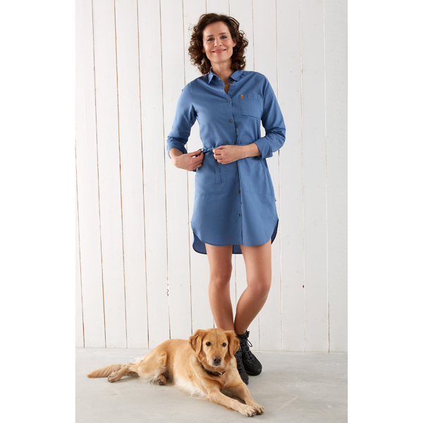 "Fjällräven Damen Blusenkleid ""Övik Shirt Dress W"""