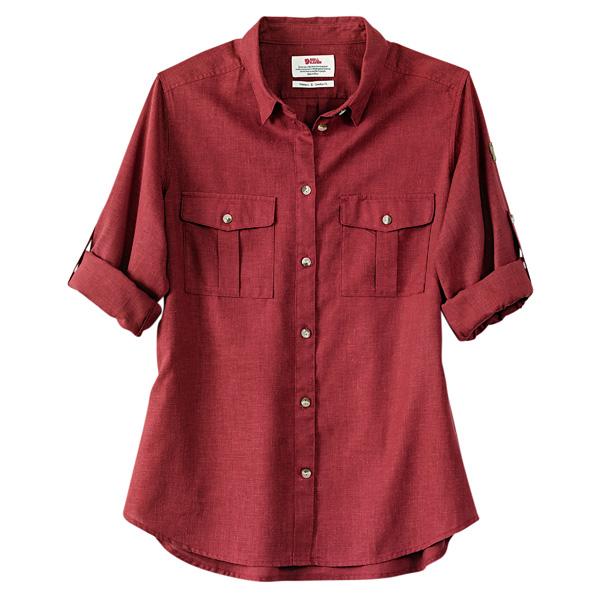"Fjällräven Damenbluse ""Övik Travel Shirt LS W"""