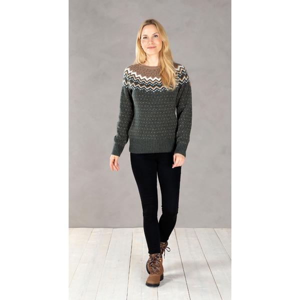 "Fjällräven Damestrui ""Övik Knit Sweater W"""