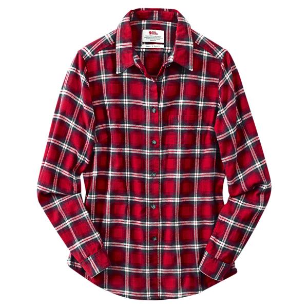 """Fjällräven Damesblouse """"Övik Flannel Shirt W"""""""