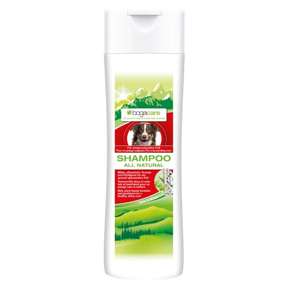 "bogacare® Shampoo ""All Natural"""