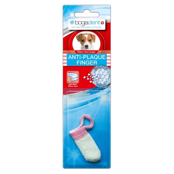 "bogadent® Hondentandenborstel ""Anti-Plaque Finger"", puppy"