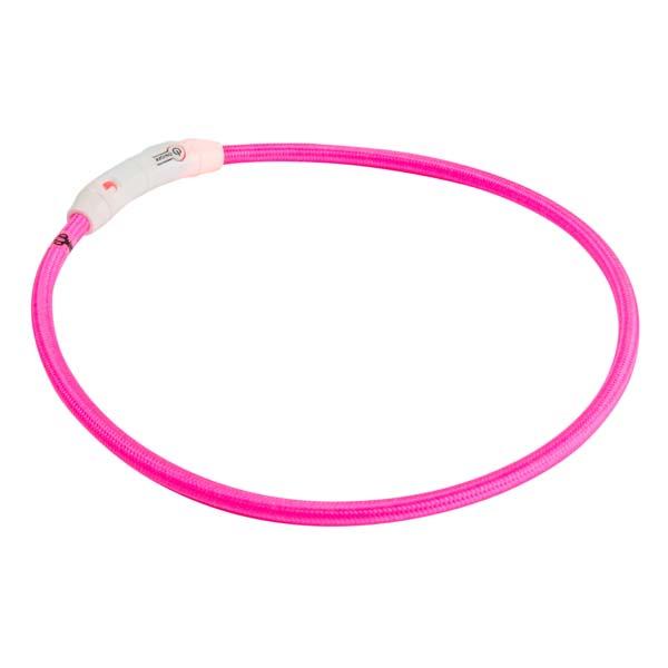 """Honden-lichtring """"Pink Flash"""""""