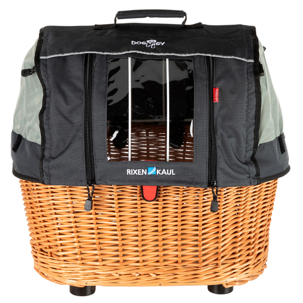 "KLICKfix Hunde-Fahrradkorb ""Doggy Basket Plus Fix"""
