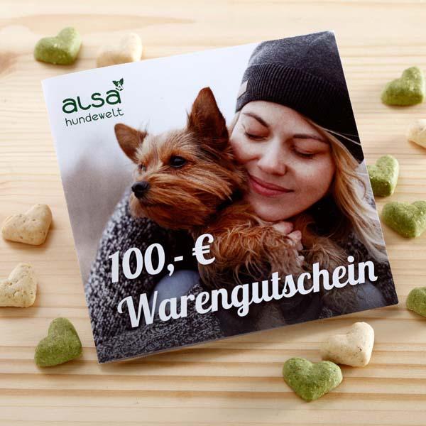 alsa Warengutschein 100,- €