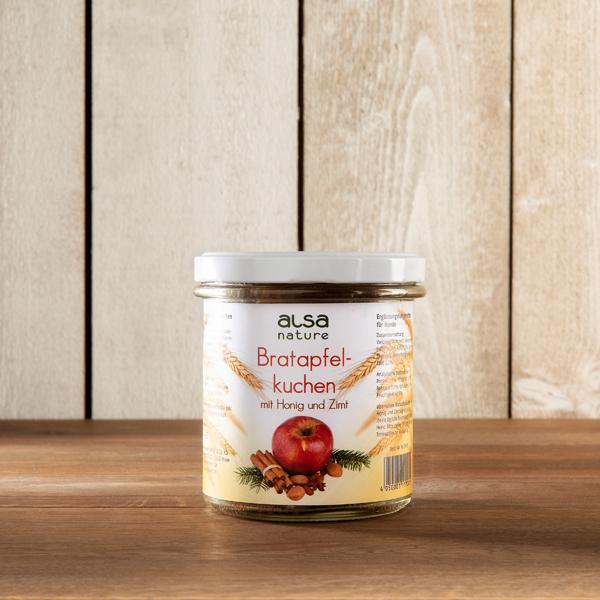 alsa-nature Bratapfelkuchen im Glas