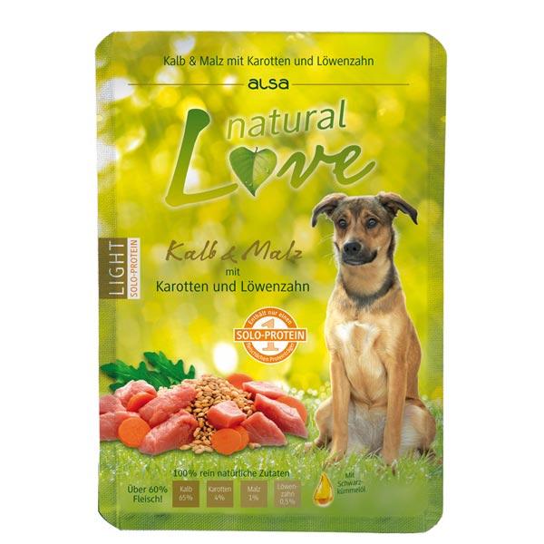 alsa natural Love Enkel-eiwit Kalf met Wortel & Paardebloem