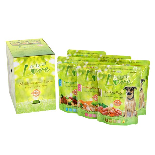 alsa natural Love Multipack 3 Single-Protein