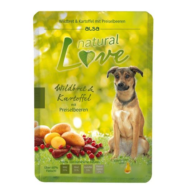 alsa natural Love Wildbret & Kartoffel mit Preiselbeeren