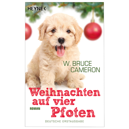 """Buch """"Weihnachten auf vier Pfoten"""""""