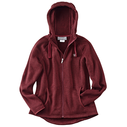 "Ariat Damen Strickjacke ""WMS Granby Full Zip Hoodie"""