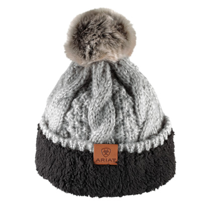 "Ariat Dames Muts ""Cable Beanie Sleet"""