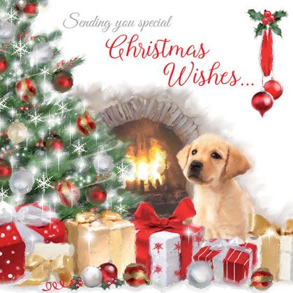 """Weihnachtskarte """"Christmas Eve Excitement"""""""