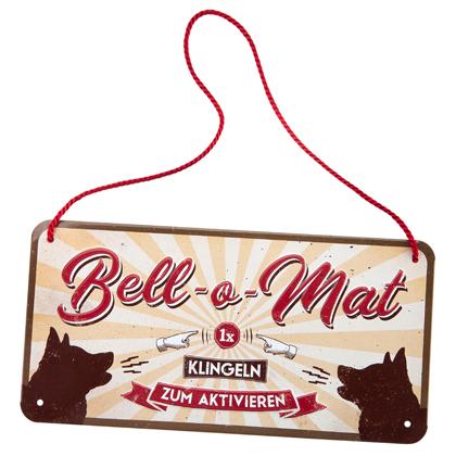 """Dekoschild """"Bell-o-Mat"""""""