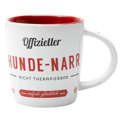 """Nostalgic Art Kaffeebecher """"Hunde-Narr"""""""