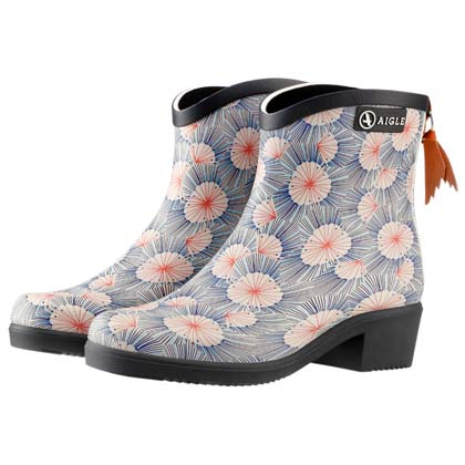 "Aigle Damen Boots ""Miss Juliette Bottillon Print"""