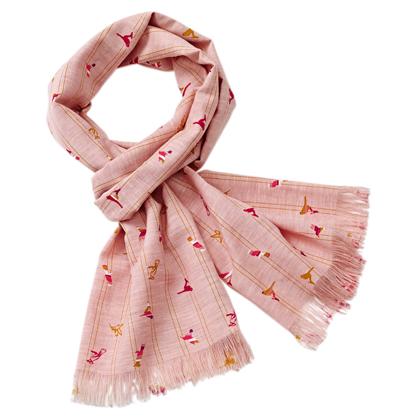 "Aigle Dames sjaal ""Blauly"""