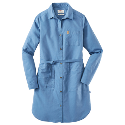 "Fjällräven Dames Shirtblouse ""Övik Shirt Dress W"""