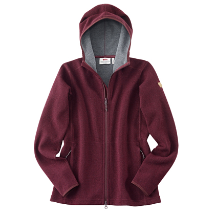 "Fjällräven Dames Vest ""High Coast Wool Hoodie W"""