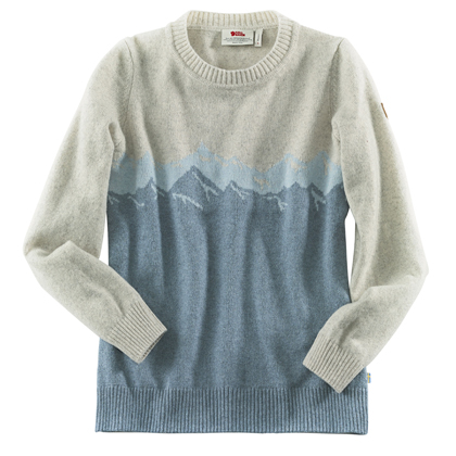 "Fjällräven Dames Trui ""Greenland Re-Wool View Sweater W"""