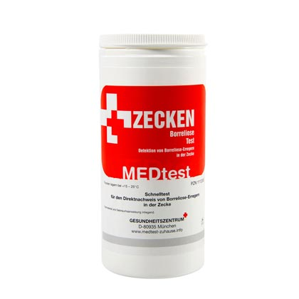 Zecken-Borreliose-Test