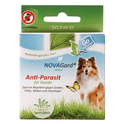 "NOVAGard Green® Spot-On ""Anti-Parasit"""