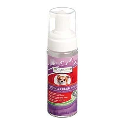 "bogacare® Honden-droogshampoo ""Clean & Fresh Foam"""