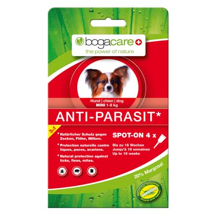 "bogacare® Hunde Spot-On ""Anti-Parasit Mini"""