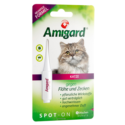 "Amigard® Spot-On ""Anti-Parasit Katze"""