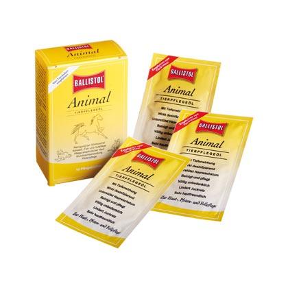 Ballistol Animal Tierpflegeöl-Tücher