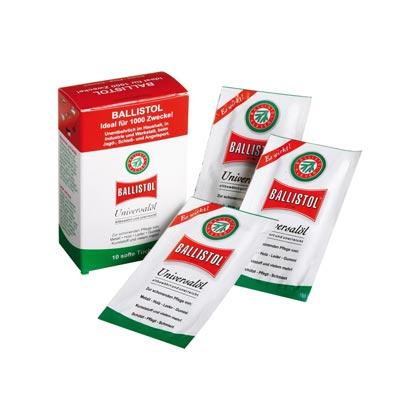 Ballistol Universalöl-Reinigungs- und Pflegetücher