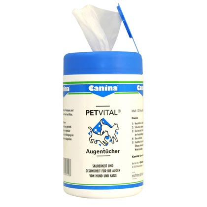 Canina Petvital® Augenpflegetücher