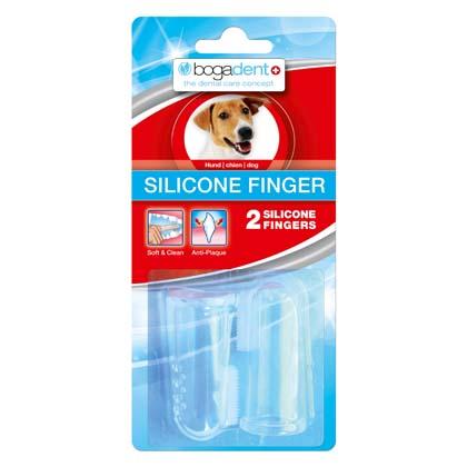"bogadent® Hondentandenborstel ""Silicone Finger"""