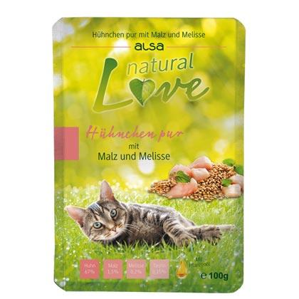 alsa natural Love Hühnchen pur mit Malz & Melisse