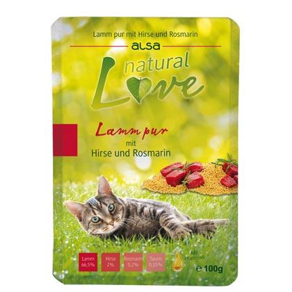 alsa natural Love Lamm pur mit Hirse & Rosmarin