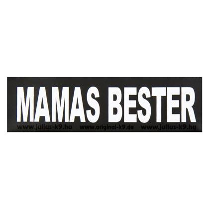 """Julius-K9® Klettsticker """"Mamas Bester"""""""